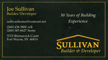 Sullivan Custom Homes in Fort Wayne Indiana - Hamlets of Woodland Ridge West